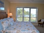 Enjoy Ocean Views from Master Bedroom at 4402 Windsor Court North