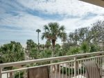 Balcony with Ocean Front Views at 445 Captains Walk