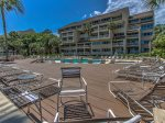 Oceanfront Pool and Sundeck at Captains Walk