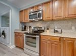 Kitchen with Breakfast Bar at 445 Captains Walk