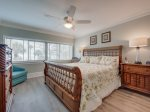 Master Bedroom with King Bed at 445 Captains Walk