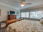 Master Bedroom with Ocean View at 445 Captains Walk