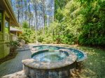 Private Hot Tub at 44 Old Military Road