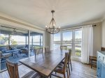 Dining Area with Water Views at 46 Lands End
