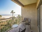 Balcony with Ocean Front Views at 472 Captains Walk
