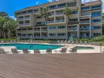 Oceanfront Pool & Sundeck at Captains Walk