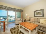 Living Room with Ocean Front Views at 472 Captains Walk