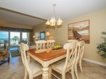 Dining Area at 472 Captains Walk