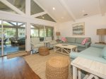 Living Area Opens to Screened Porch and Pool in 4 Armada