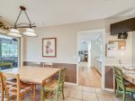 Kitchen Table with Seating for Six at 4 Audubon Pond