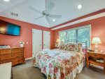 Queen Bedroom with Private Bath at 4 Audubon Pond