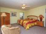 Master Bedroom at 4 Cedar Wax Wing has a King bed and is located upstairs