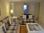 The Den offers a second living area which is great for the kids at 4 Cedar Wax Wing in Sea Pines