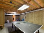 Ping Pong Table in Garage at 4 Ginger Beer Court