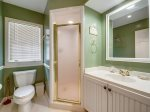 Shared Guest Bathroom with Shower at 4 Greenwood Court