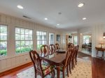 Dining Room with Seating for 8 at 4 Greenwood Court