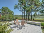 Outside Deck with Beautiful Views at 4 Lands End Court