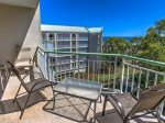 Private Balcony with 5th Floor Ocean Views at 501 Windsor Place