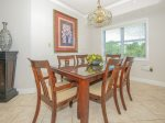 Dining Room with Seating for 6 at 501 Windsor Place
