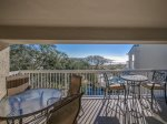 Balcony with Ocean Views at 502 Barrington Arms