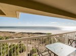 Spacious Balcony with Ocean Front Views at 513 Barrington Court