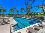 Adult`s only Lap Pool at Hampton Place in Palmetto Dunes