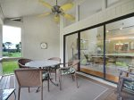 Peaceful Screened Porch at 553 Ocean Course
