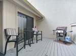 Front Deck with BBQ Grill at 553 Ocean Course