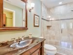 Guest Bathroom with Shower/Tub Combo at 5 Long Boat