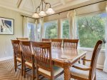 Formal Dining Area at 5 Long Boat