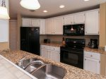 Kitchen with Granite Counters at 608 Barrington Park