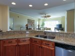 Kitchen with Granite Counters at 6101 Hampton Place