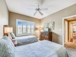 Guest Bedroom with Two Twin Beds at 6401 Hampton Place