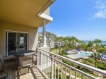 Private Balcony with Ocean Views at 6401 Hampton Place