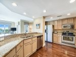 Kitchen with Breakfast Bar at 6401 Hampton Place