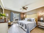 Master Bedroom with King Bed at 6403 Hampton Place