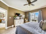 Master Bedroom with Ocean Views at 6403 Hampton Place