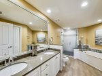 Renovated Master Bathroom at 6403 Hampton Place