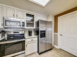 Renovated Kitchen with Attached Laundry Room at 6403 Hampton Place