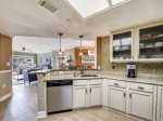 Kitchen Opens to Dining Area and Living Room at 6403 Hampton Place