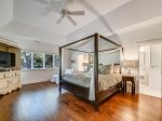 Master Bedroom with King Bed at 66 Heritage Road