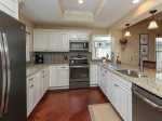 Newly Renovated Kitchen at 6 Beachside