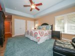 Master Bedroom with King Bed at 6 Jessamine Place