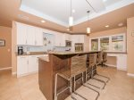 Upgraded Kitchen with Breakfast Bar at 6 Jessamine Place