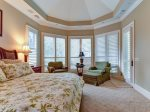 6 Juniper Lane - Master Bedroom with Pool View