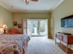 6 Juniper Lane - Upstairs King Bedroom with Private Balcony