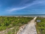 Beach Boardwalk from Spotted Sandpiper