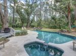 Pool and Hot Tub at 74 Baynard Cove Road