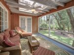 Screened Porch at 74 Baynard Cove