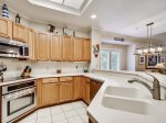 Kitchen with Breakfast Bar at 8122 Wendover Dunes